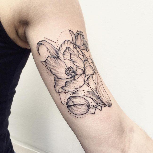floral tattoo32