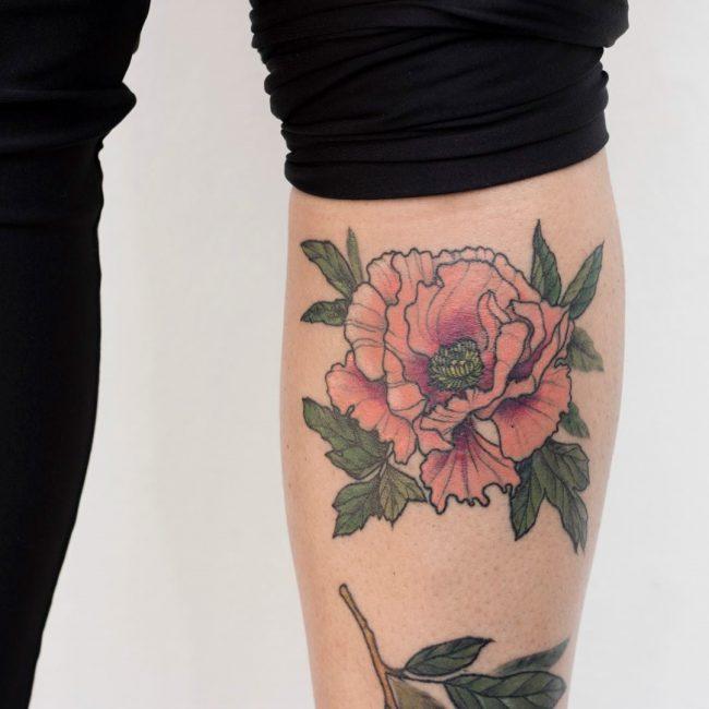 floral tattoo33