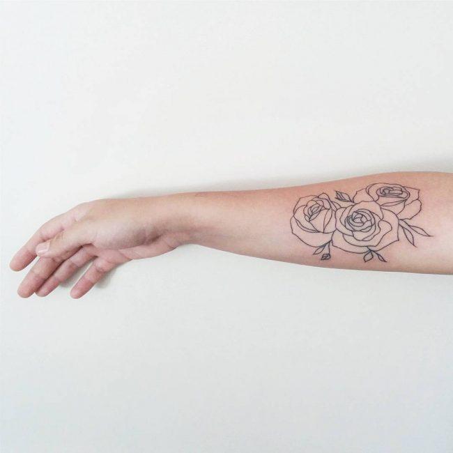 floral tattoo36