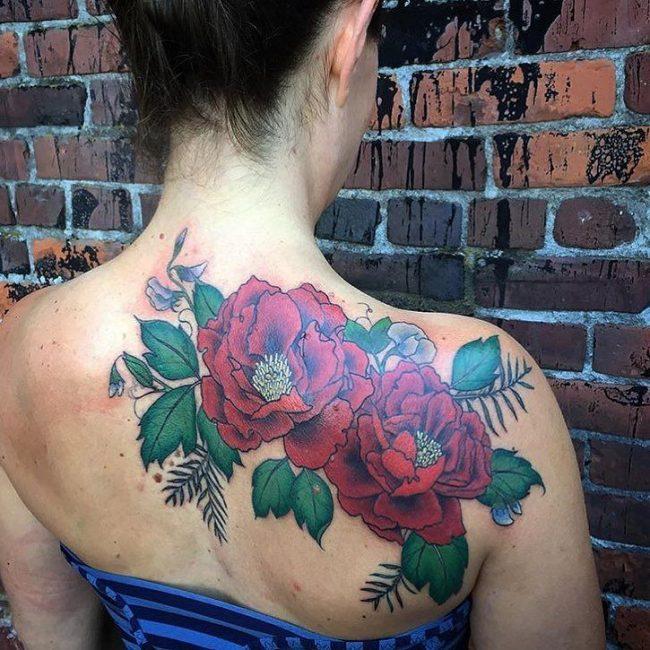 floral tattoo37