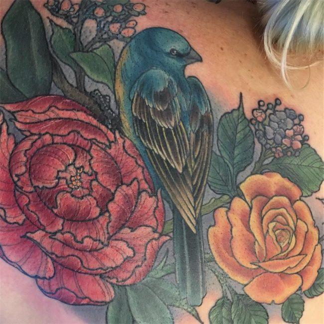 floral tattoo38