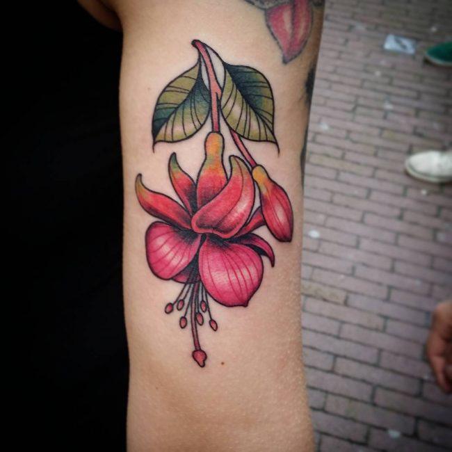 floral tattoo40