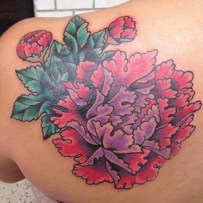 floral tattoo42