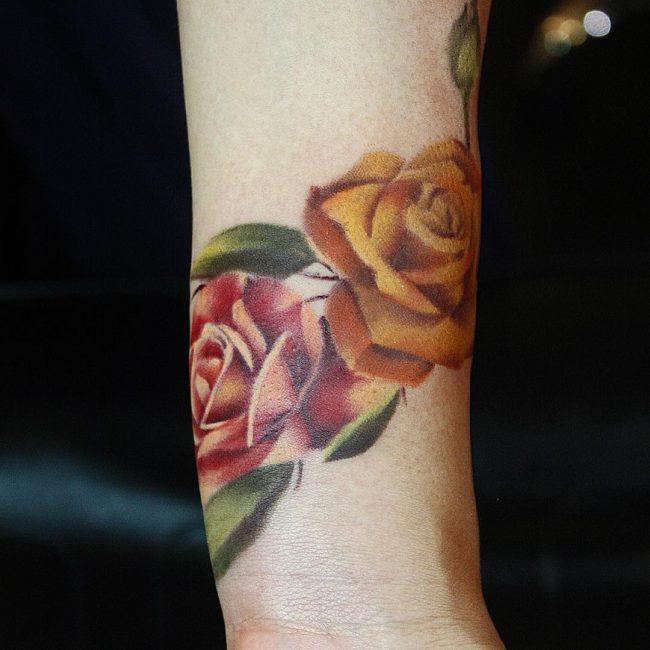 floral tattoo44