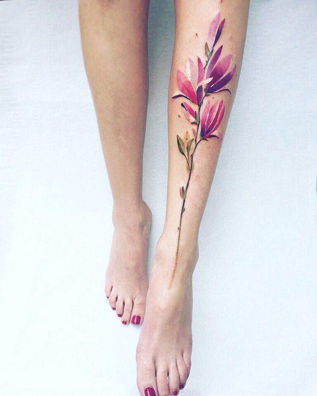 floral tattoo49