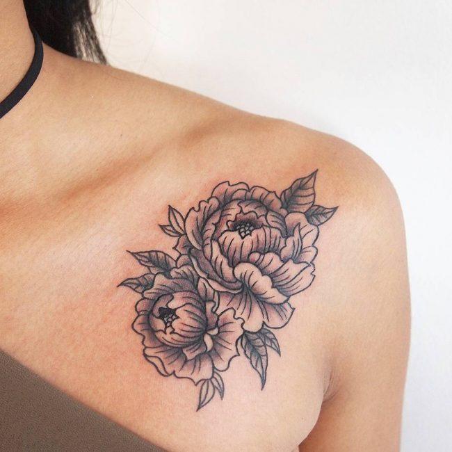 floral tattoo50