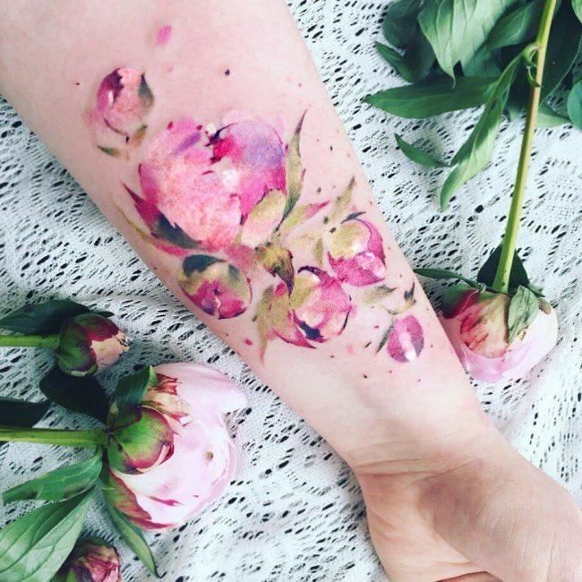 floral tattoo53