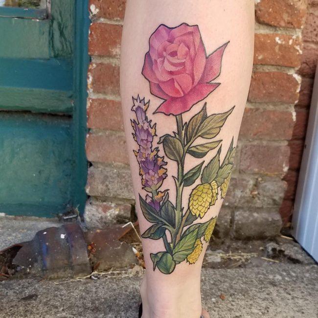 floral tattoo57