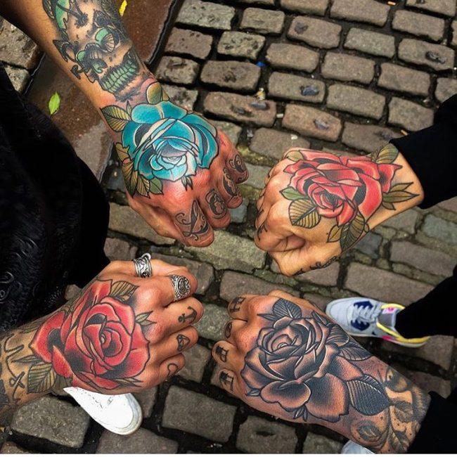 floral tattoo58