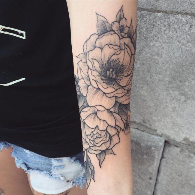 floral tattoo6
