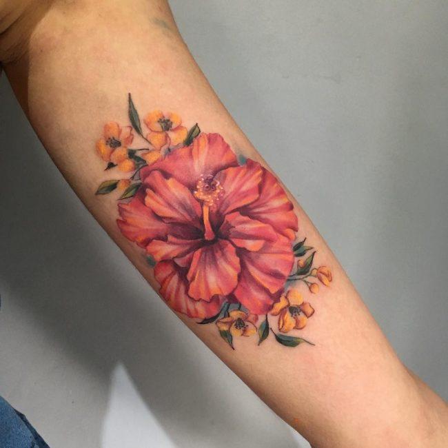 floral tattoo60