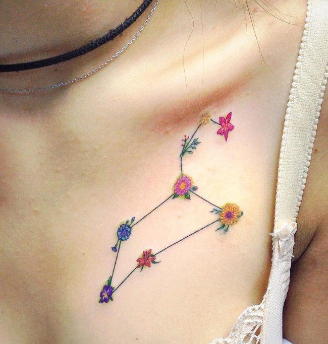 floral tattoo64
