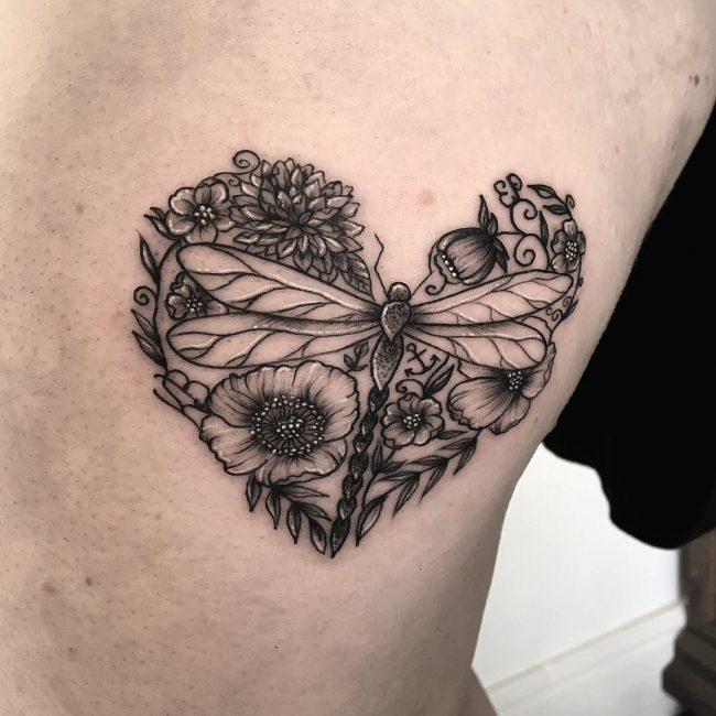 floral tattoo67