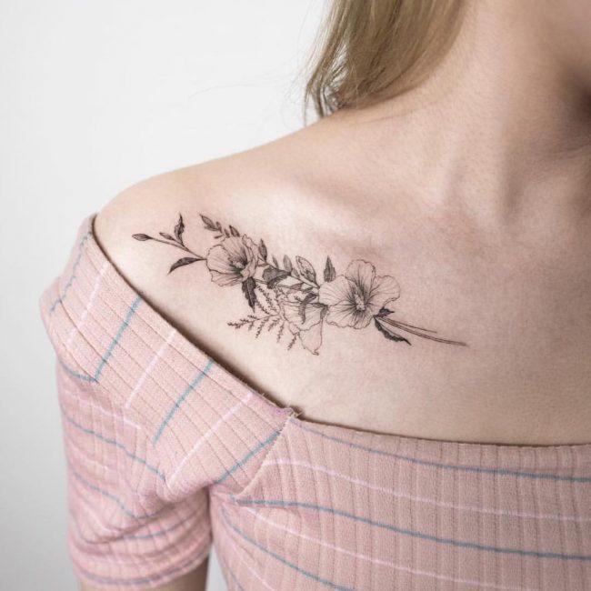 floral tattoo71