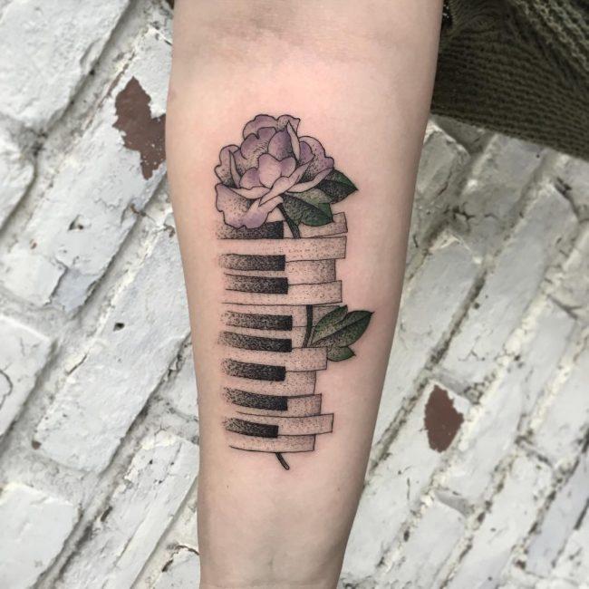 floral tattoo73