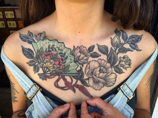 floral tattoo76