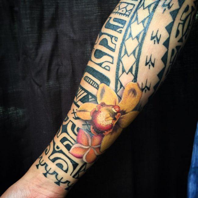 floral tattoo78
