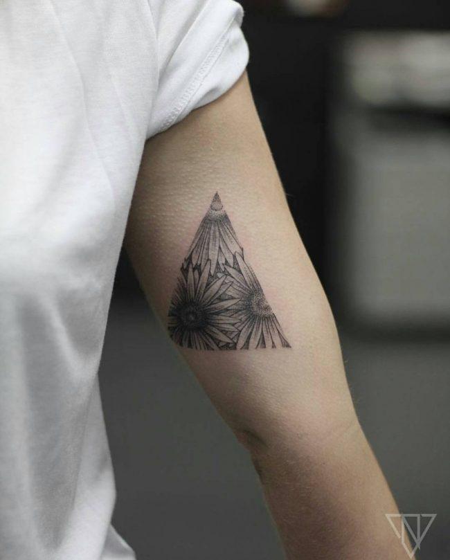 floral tattoo8