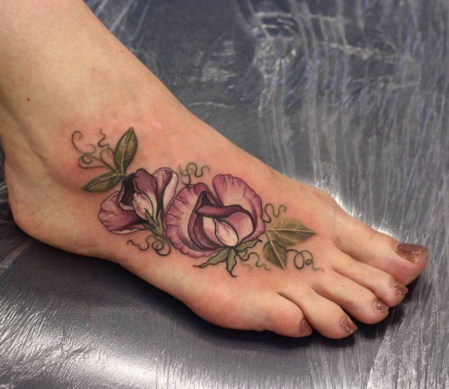 floral tattoo9