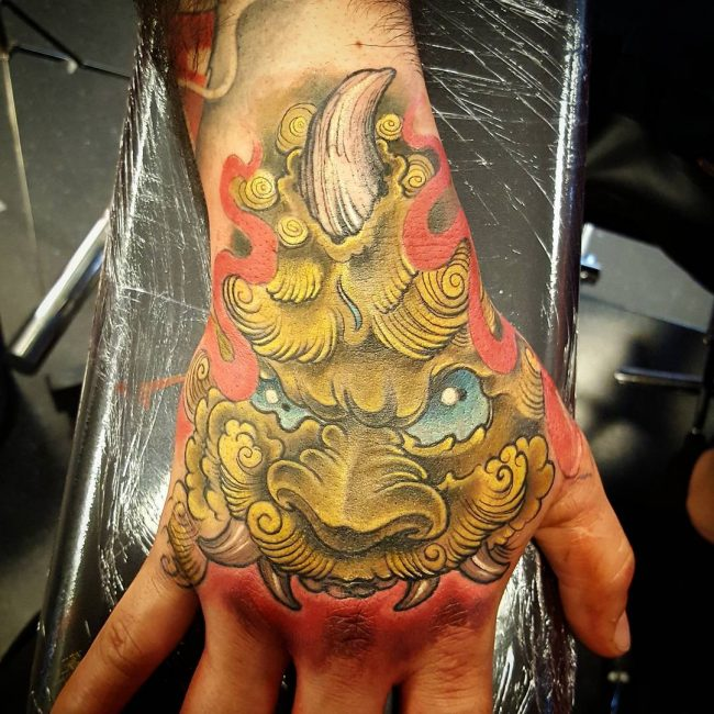 foo dog tattoo13