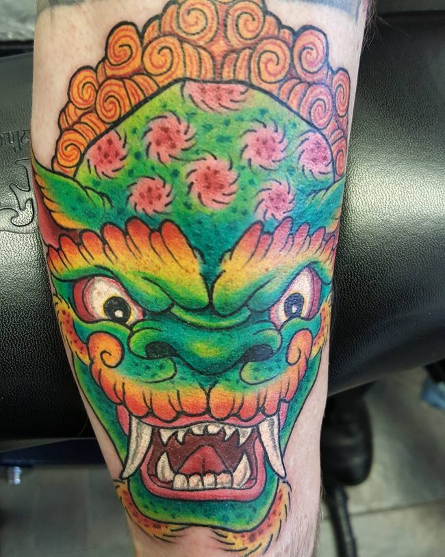 foo dog tattoo28