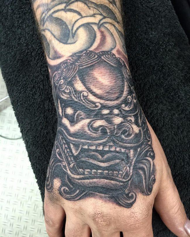 foo dog tattoo33