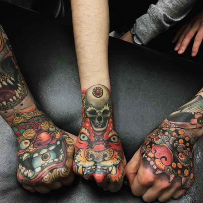 foo dog tattoo41