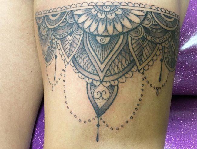 garter tattoo31