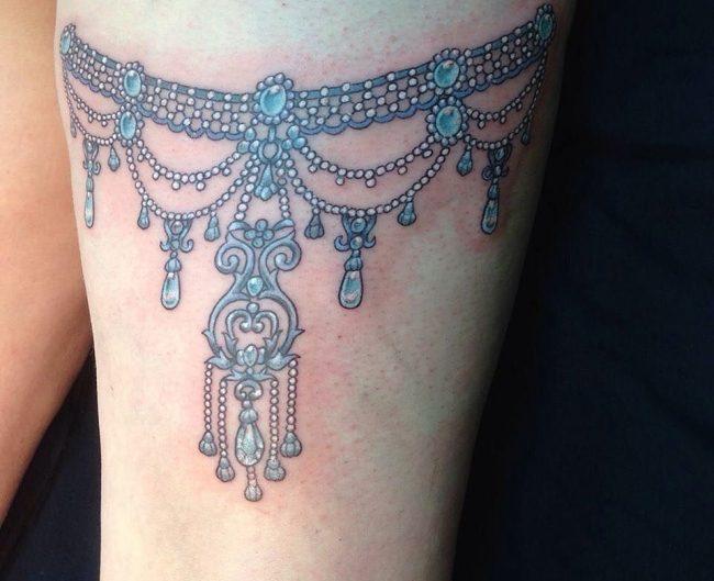 garter tattoo40
