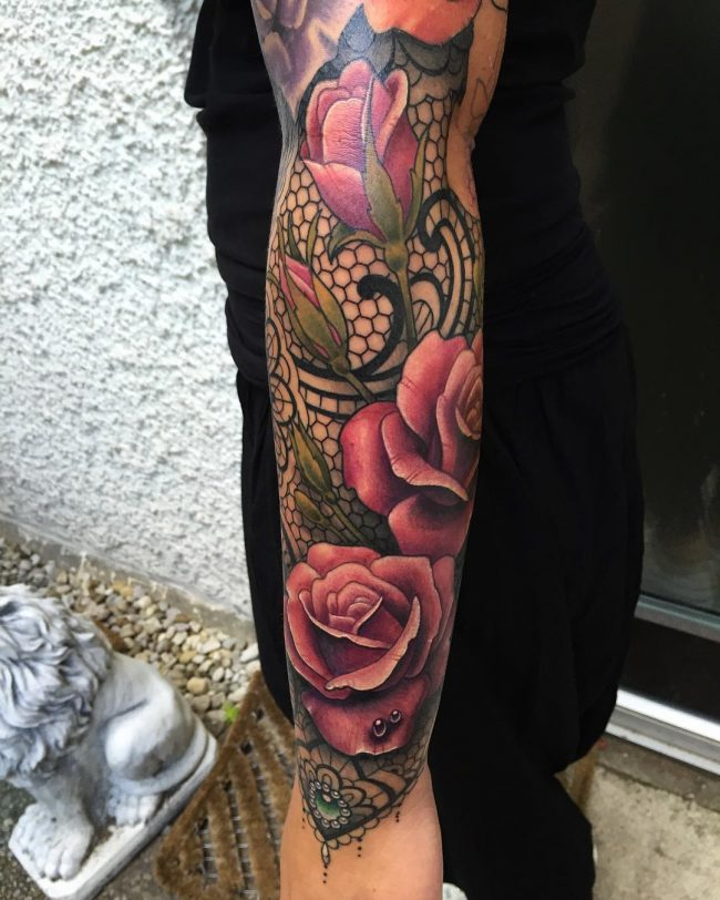 lace tattoo20
