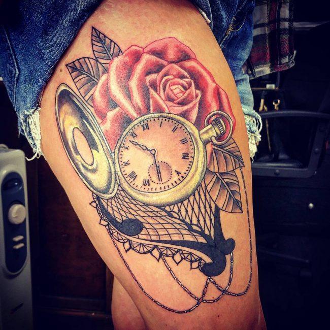 lace tattoo24