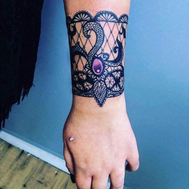 lace tattoo41