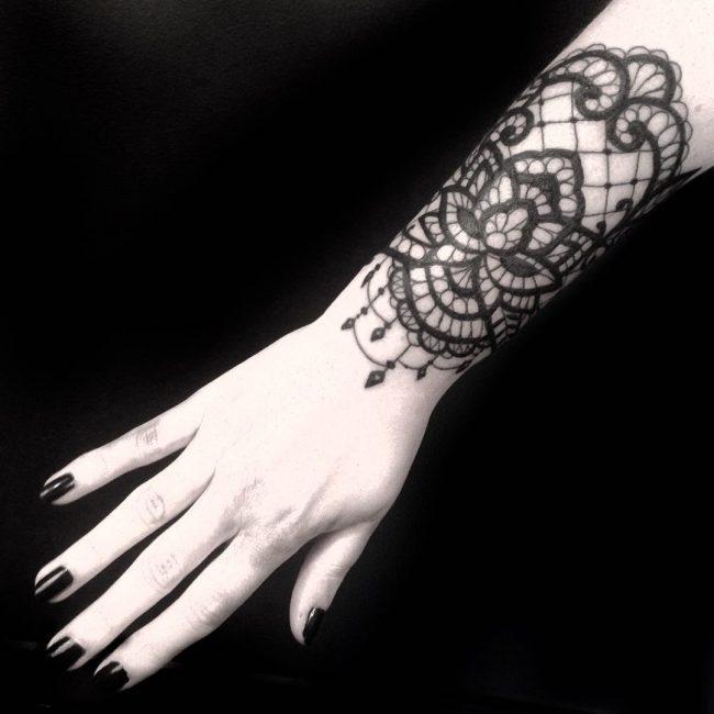 lace tattoo43