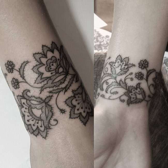 lace tattoo47