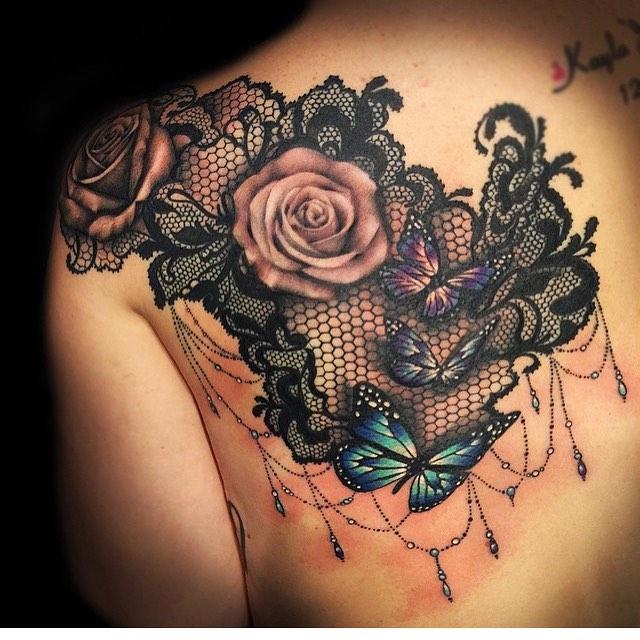 lace tattoo56