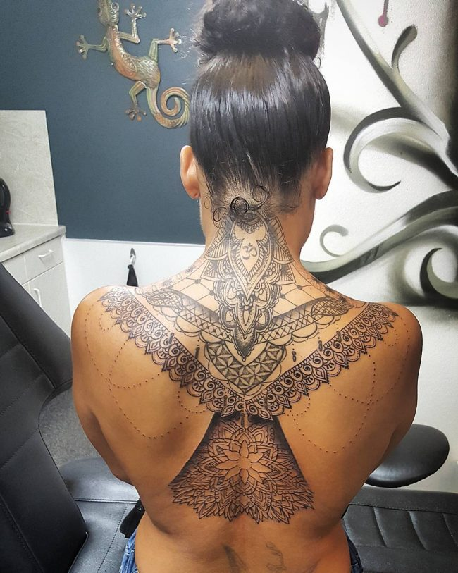 lace tattoo58