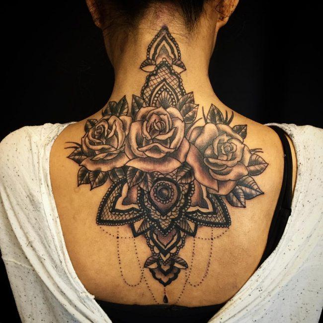lace tattoo60