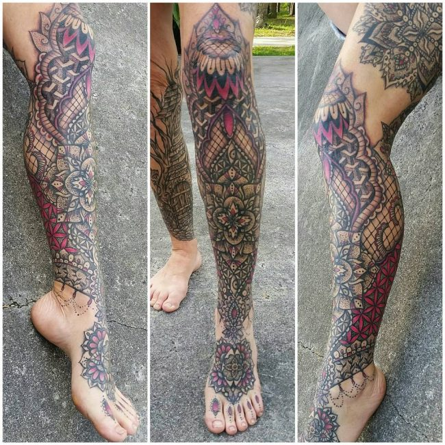 lace tattoo70