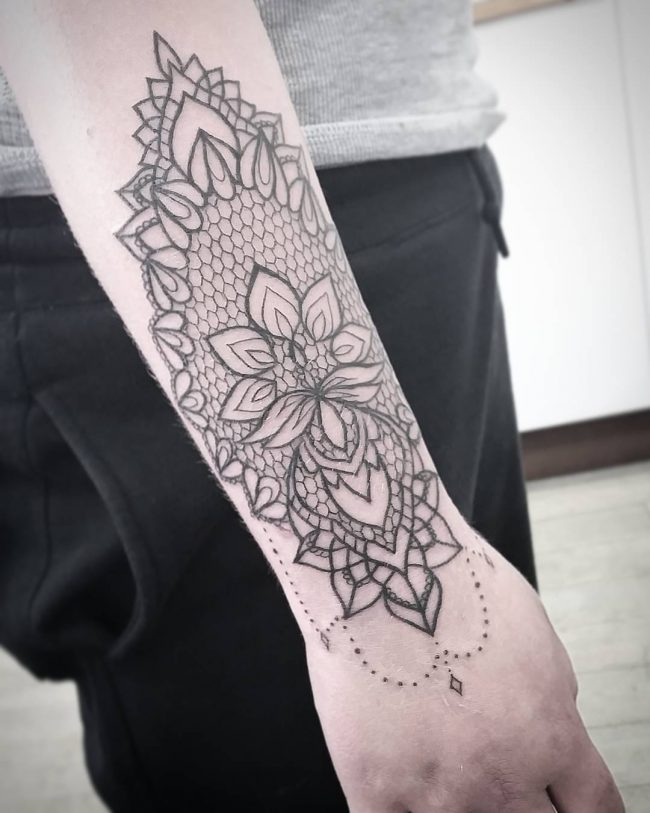 lace tattoo72