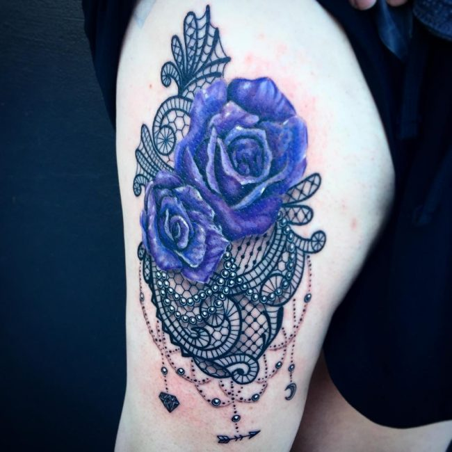 lace tattoo8