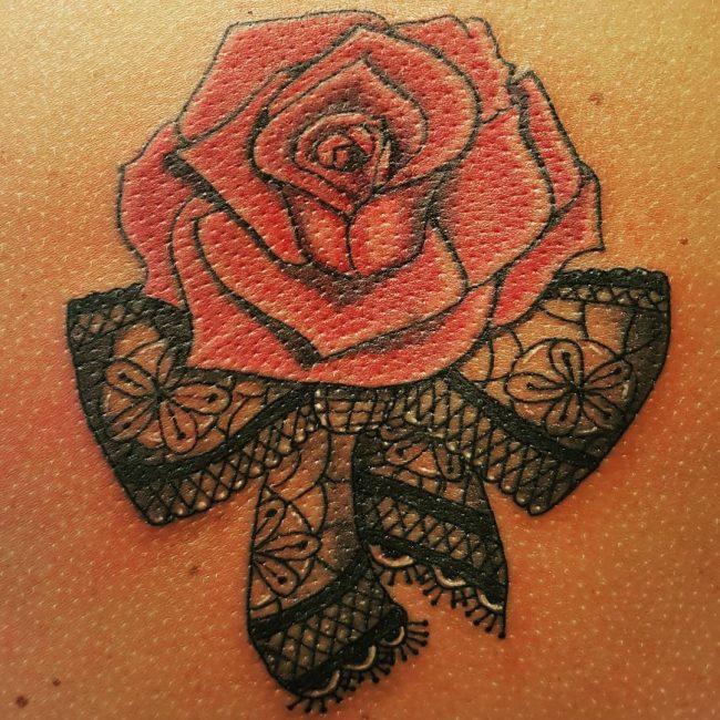 lace tattoo9