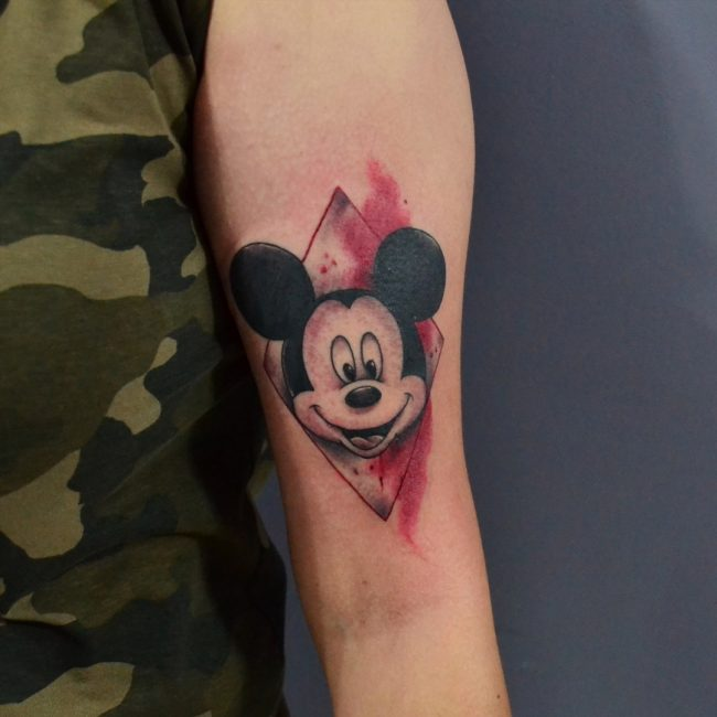 mickey and minnie mouse tattoo2
