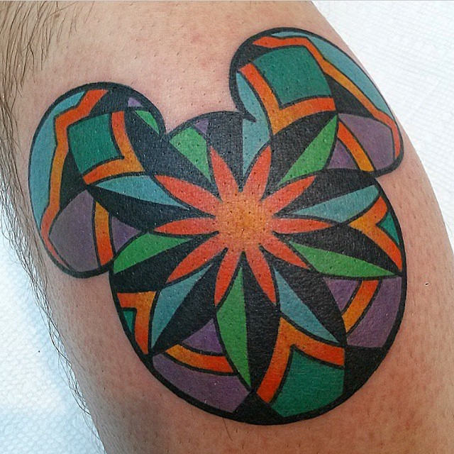mickey and minnie mouse tattoo27