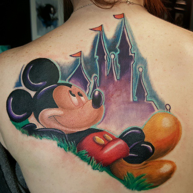 mickey and minnie mouse tattoo35