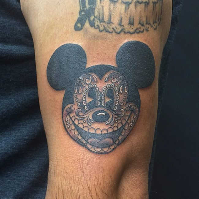 mickey and minnie mouse tattoo6