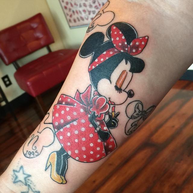 mickey and minnie mouse tattoo9