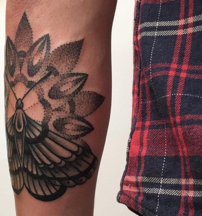 moth tattoo11
