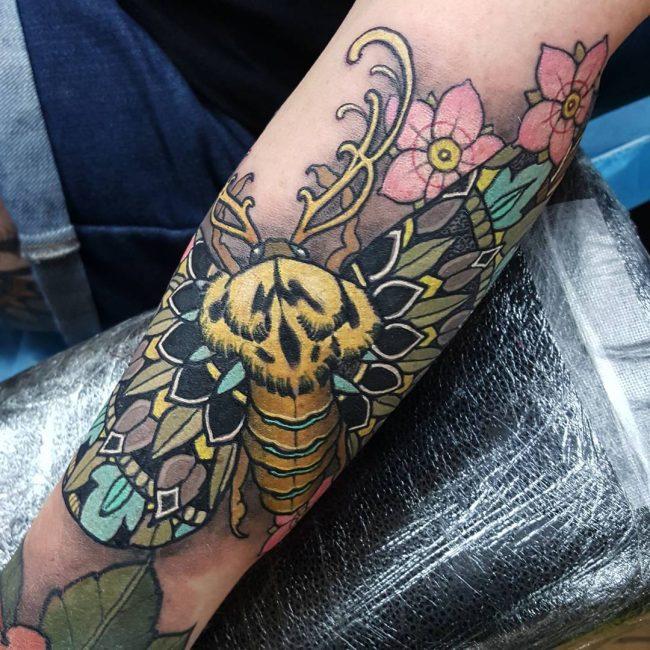 moth tattoo13