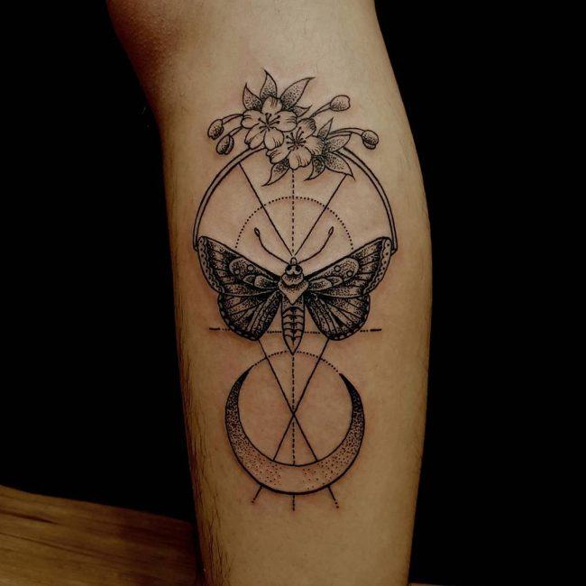 moth tattoo14