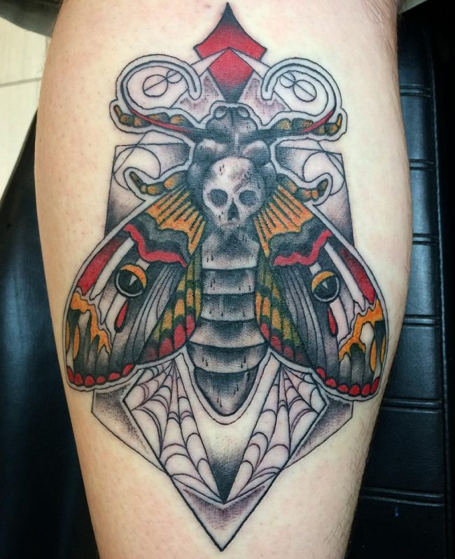 moth tattoo17